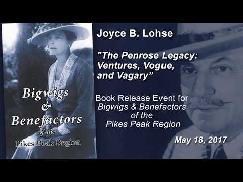 "Joyce B. Lohse: ""The Penrose Legacy: Ventures, Vogue, and Vagary"""