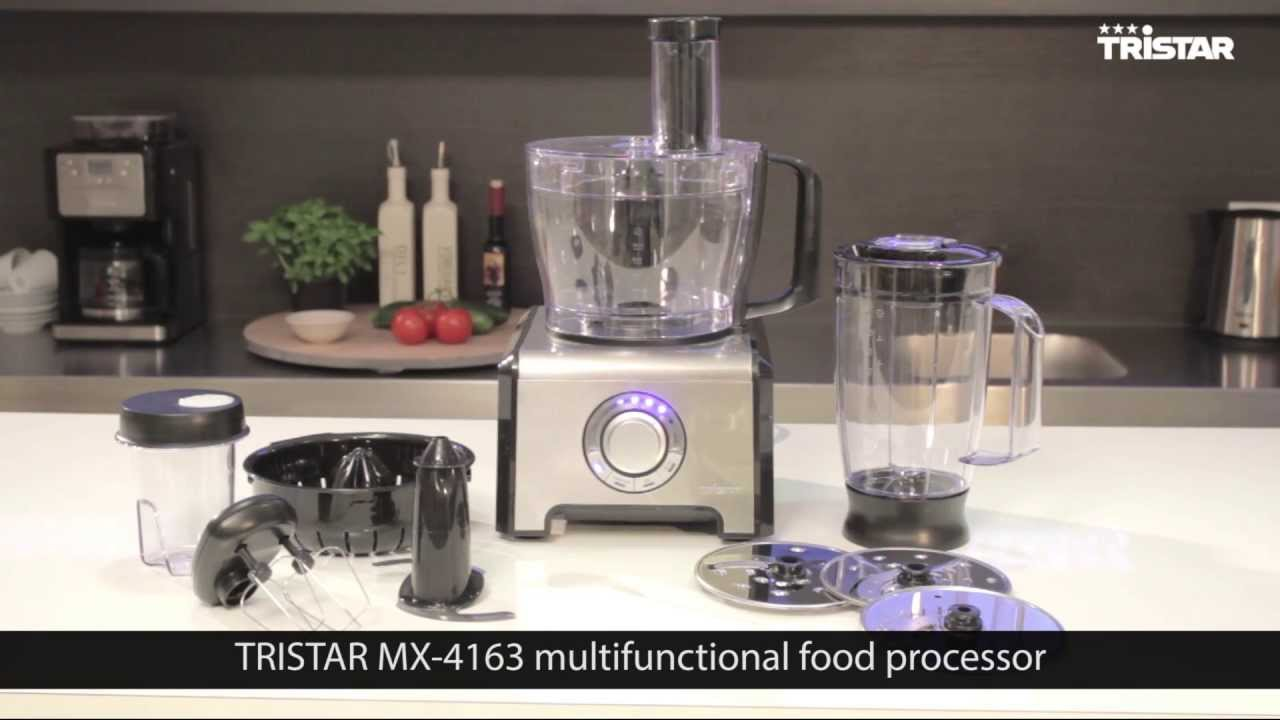 Genial Tristar Food Processor. 12 Functions In 1 [MX 4163]