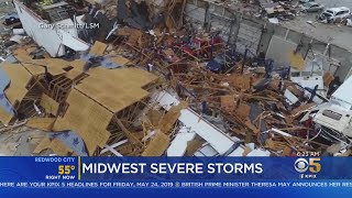 Severe Storms Pummel Midwest States