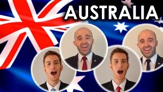 Advance Australia Fair (National Anthem) - A Cappella quartet cover