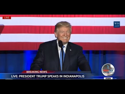 LIVE: President DONALD TRUMP Gives MAJOR Speech in INDIANAPOLIS on TAX REFORM LIVE STREAM 9/27/17