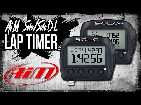 AiM Solo/SoloDL Lap Timer: First Impressions, Install, and Software from Sportbiketrackgear.com
