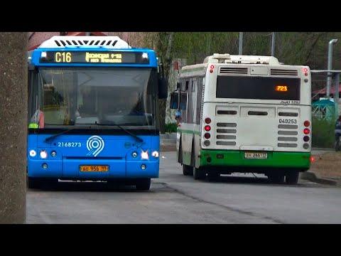 """""""Карантинное время!"""" Встреча двух автобусов ЛиАЗ-5292.22 и ЛиАЗ-5292.65"""