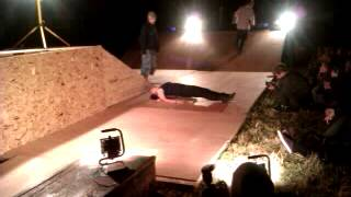Wight Trash Vs Painless Parties - Jumping Over a Bed of Nails at V-Dub Island 2014