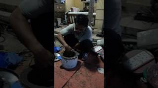 Making a forge from an old rice cooker