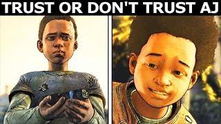 Trust Or Don't Trust Alvin Junior - Alternative Choices - The Walking Dead Final Season 4 Episode 4