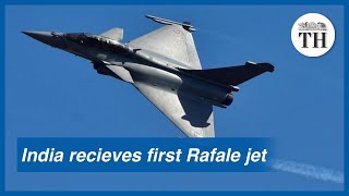 India receives first Rafale jet