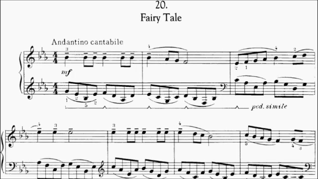 Con Brio Exam (CBE) Grade 4 Kabalevsky Op 27 No 20 Fairy Tale Sheet Music