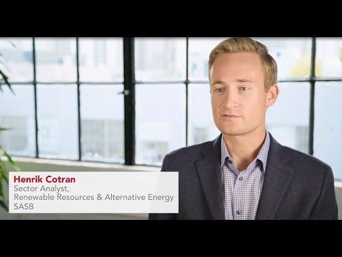 SASB's Renewable Resources & Alternative Energy Sector