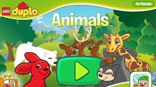 LEGO Duplo Animals (ЛЕГО Дупло. День Рождения Медведя) - мультик игра для малышей