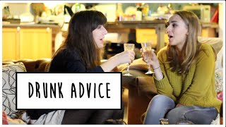 DRUNK ADVICE WITH DODIE CLARK | Hannah Witton