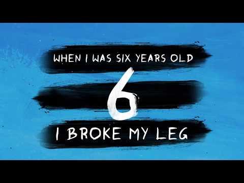 Lyric Video Template #4 Ed Sheeran |