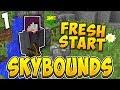 RETURNING TO ROBOTS! | SKYBOUNDS S2 #1  (Minecraft Skyblock)