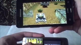 Играем танки онлайн на Samsung Galaxy S II