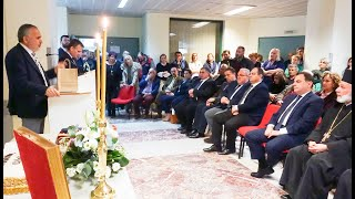 Ομιλία του βουλευτή ΚΙΝ.ΑΛ. Γιώργου Φραγγίδη στο νοσοκομείο Κιλκίς - Eidisis.gr webTV