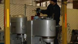 Hobart Mixer Process at Food Makers Bakery Equipment
