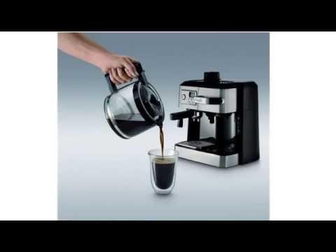 delonghi bco130t combination coffee espresso machine reviews