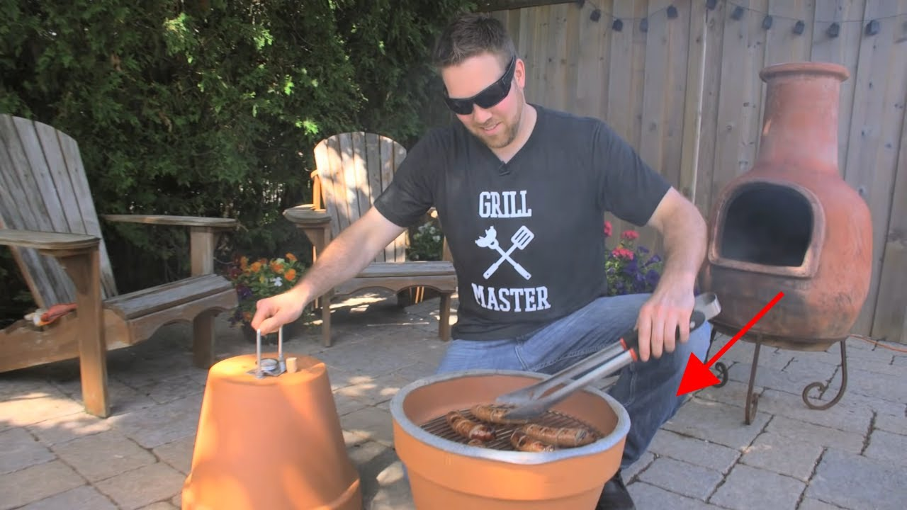 How To Make Beautiful Flower Pots At Home Diy Flower Pot Grill And Smoker Youtube