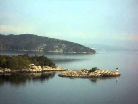 جزر النرويج الباخره.AVI
