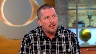 "Christian Bale talks ""Hostiles"" and his new look"