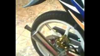 Repeat youtube video Suzuki satria 120 R LSCM knalpot kolong