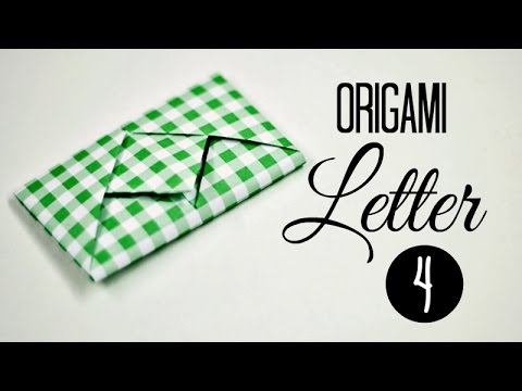 How to fold a letter 04 - YouTube