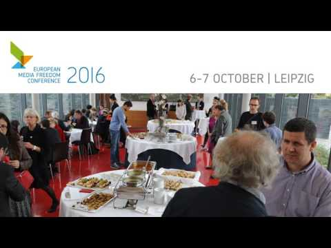 European Media Freedom Conference 2016 - What can you expext?