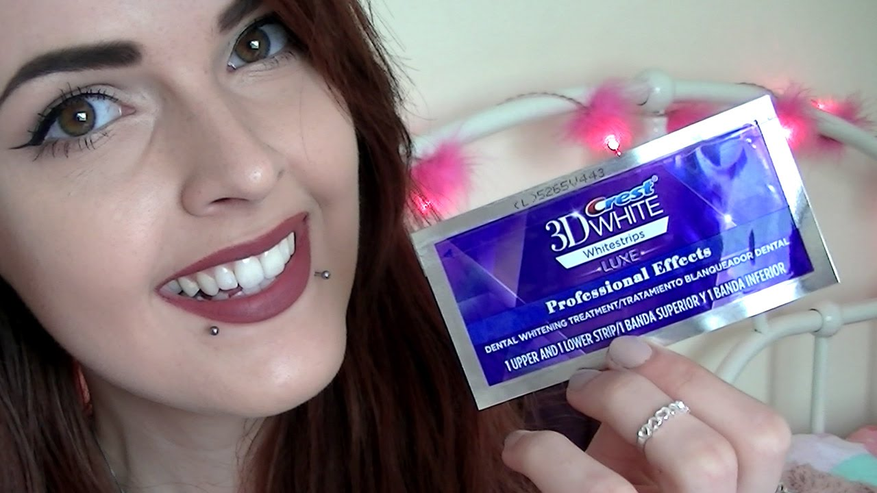 How I Whitened My Teeth Before After Results Crest 3d