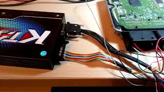 Чип тюнинг BMW F25 2.0d с блоком EDC17c50 GPT чтение и запись