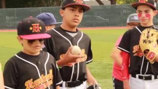 "MLB ""Legends For Youth"" Baseball Clinic by Ernie Camacho Educational Foundation 2017"
