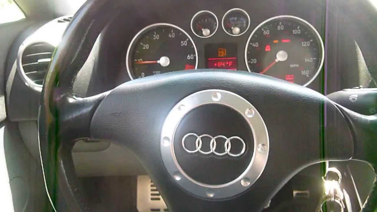 2000 audi tt mk1 8n part out horn demo youtube rh youtube com Audi A4 6-Speed Manual 2009 Audi A4 Owner's Manual