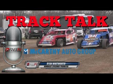 RacinBoys with Ryan Whitworth, Humboldt Speedway.