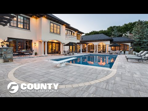 Advantages of County Materials Landscape Products - Hunter Drive Residence Project Feature