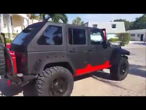 Liquid Protek Waterproof Jeep - YouTube