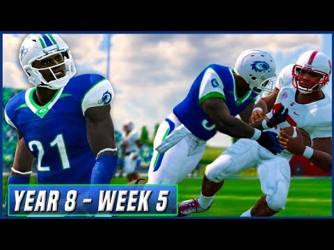 Kalispell's Big Test - NCAA Football 14 Dynasty Year 8 - Week 5 vs #17 Stanford | Ep.136