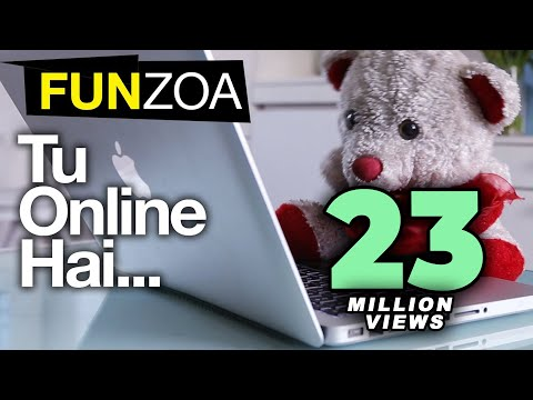 Tu Online Hai Main Bhi Online Hun-Funny Song for Friends | Funzoa Mimi Teddy | Youtube Viral Videos