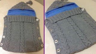 El Örgüsü Bebek Tulumu (Bebek Battaniyesi) Nasıl Yapılır? - örgü battaniye modelleri - örgü bebek