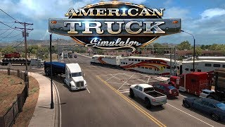 DELIVERING FRAGILE CUPS AND TELEVISIONS! - American Truck Simulator Gameplay / ATS Gameplay