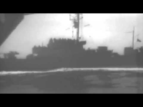 Surrender Of German U-Boat 858, May 1945 (full)