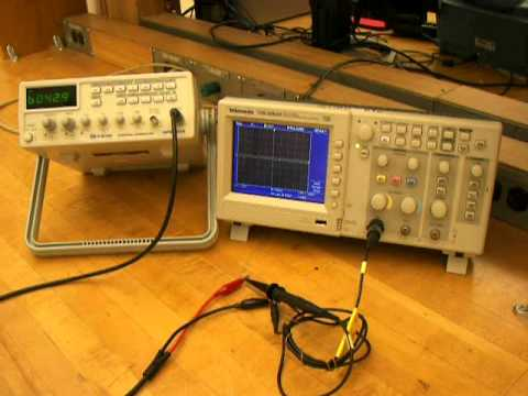 Function Generator And Oscilloscope Lab Report Experiment
