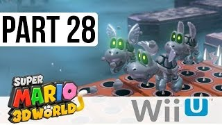 Super Mario 3D World Special World Flower World - Walkthrough Part 28 - 11-10, 11-11
