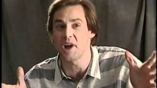 Jim Carrey talking about Andy Kaufman and reveals who Tony Clifton really is 1999