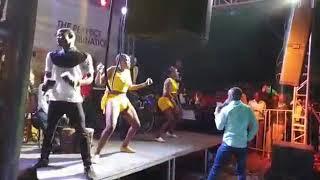 Elisha toto Performing live