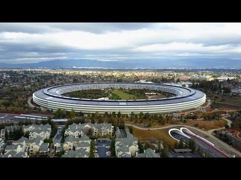 Apple Park von oben: Der neue Campus ist fast fertig!