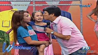 Wowowin: 4-year old child gets emotional after seeing Willie Revillame