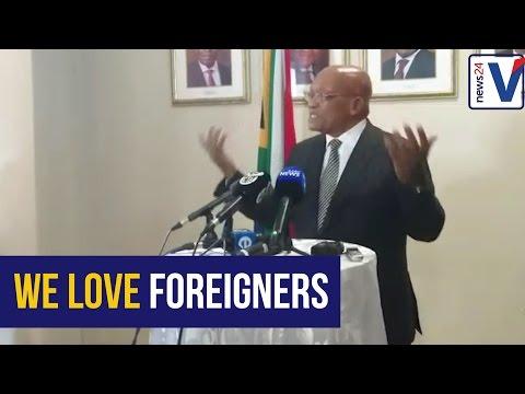 South Africans aren't xenophobic - Jacob Zuma