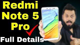 REDMI NOTE 5 PRO REVIEW - कोई टक्कर नहीं !