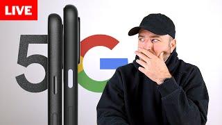 Google Pixel 5 Event Livestream
