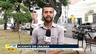 Motociclista morre em acidente em Ubajara