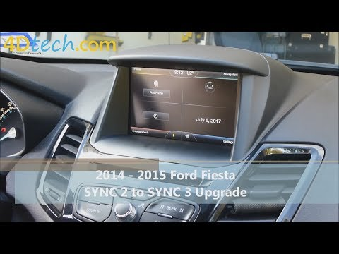 SYNC 2 to SYNC 3 Upgrade | 2014 - 2015 Ford Fiesta